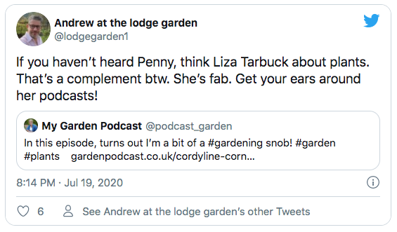 Gardening Podcast Fans